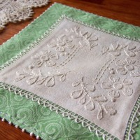 A Doily for Bessie - One Day in May