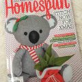 """""""We wish you a…"""" – my project in this month's Homespun"""