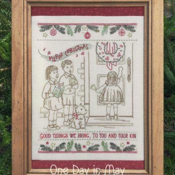 Good Tidings - vintage Christmas stitchery